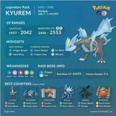 Llevate un Kyurem Legendary / Mega Raid. Profile Picture