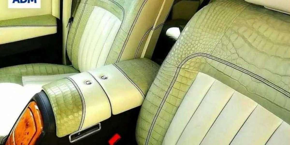 Policía incauta exótico Rolls-Royce por su tapicería de piel de cocodrilo