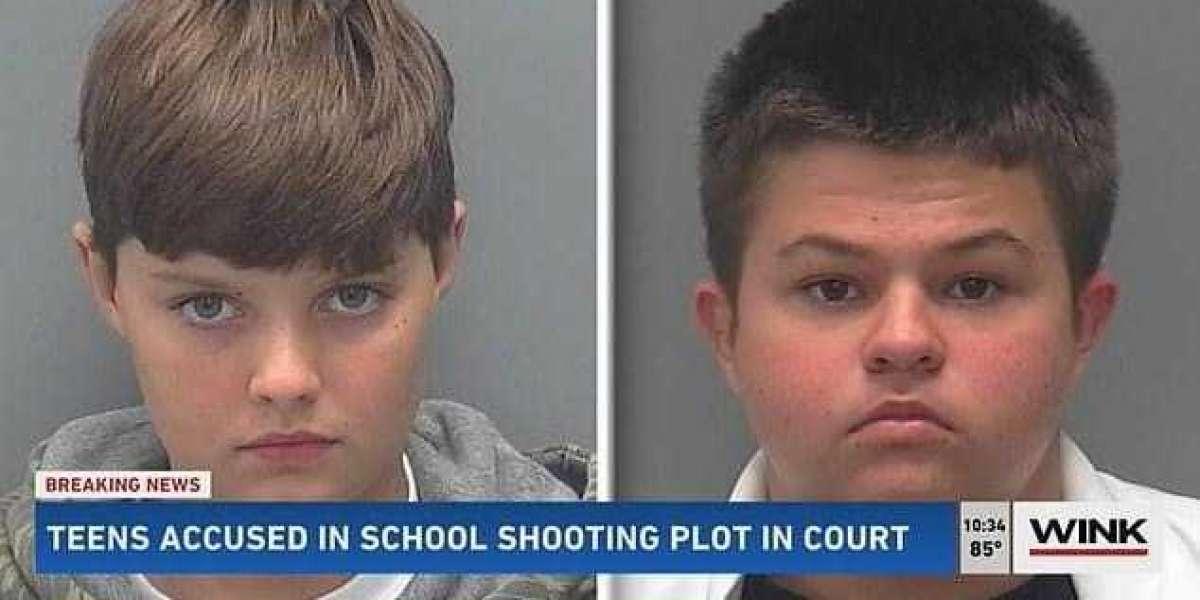 Fueron detenidos estudiantes de secundaria por planear atentado contra su escuela en Florida.