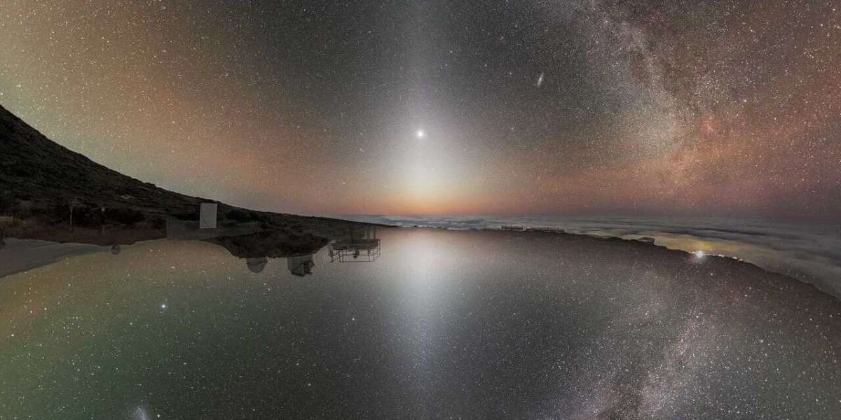 El Norte se encuentra con el Sur en esta bella foto del Observatorio Europeo Austral.